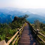 Peak trail